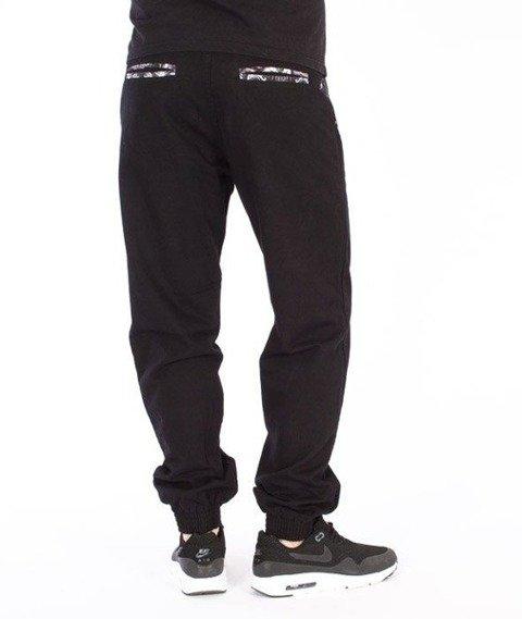 SmokeStory-Jogger Slim Róża Spodnie Czarne