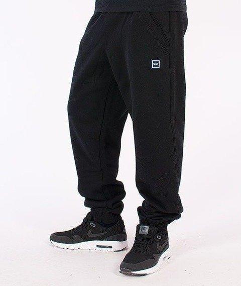 SmokeStory-Jogger Square Spodnie Dresowe Czarne