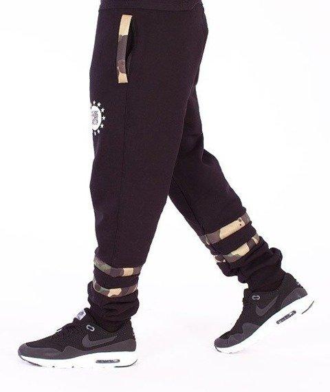 SmokeStory-Moro Regular Spodnie Dresowe Czarne