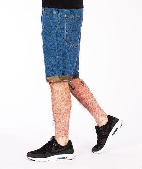 SmokeStory-Moro Wstawki Krótkie Spodnie Light Blue