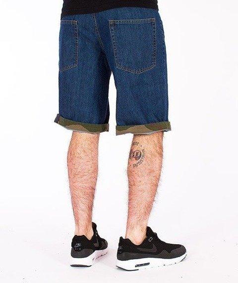 SmokeStory-Moro Wstawki Krótkie Spodnie Medium Blue