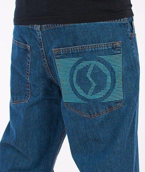 SmokeStory-New Logo Regular Jeans Medium Blue