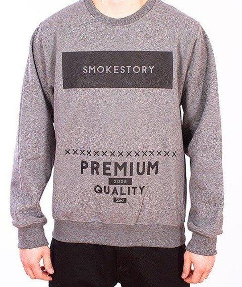 SmokeStory-Rectanagle Bluza Grafitowa