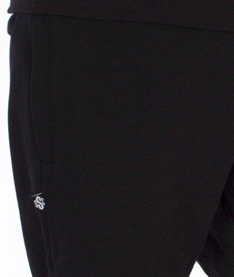 SmokeStory-Sign Slim Spodnie Dresowe Czarne