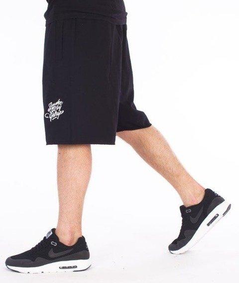 SmokeStory-Small Tag Krótkie Spodnie Czarne