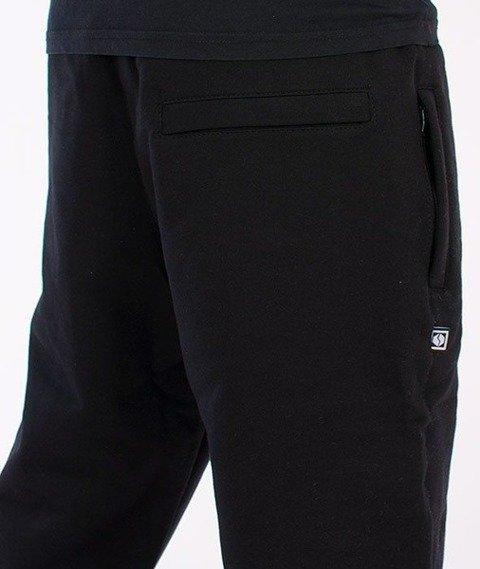 SmokeStory-Smoke Regular Spodnie Dresowe Czarne