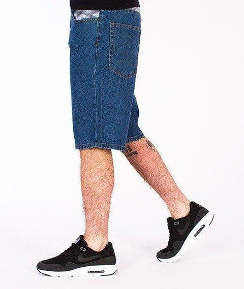 SmokeStory-Snake Moro Krótkie Spodnie Light Blue