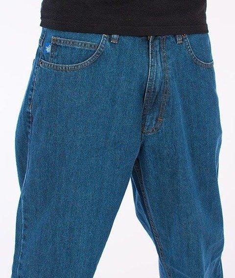 SmokeStory-Tag Baggy Jeans Light Blue
