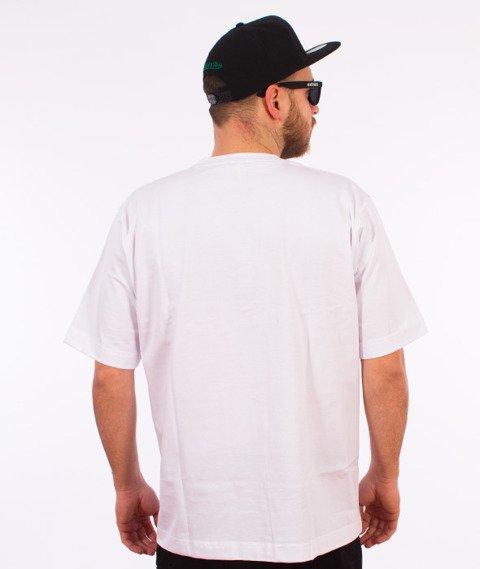 Stoprocent-Bandana16 T-shirt Biały