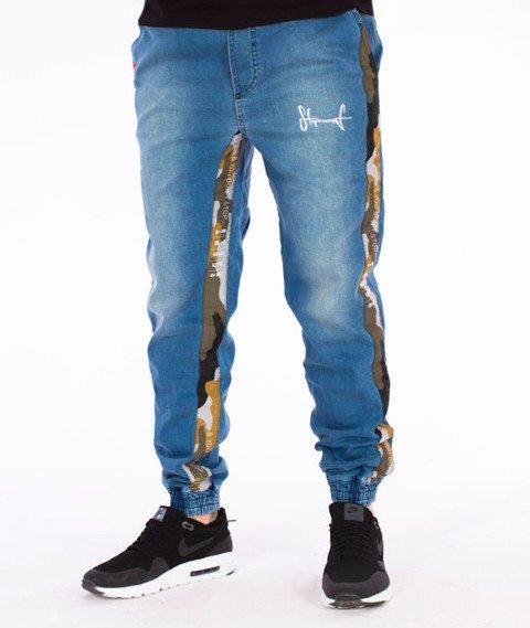 Stoprocent-Camustripe Spodnie Jogger Jeans