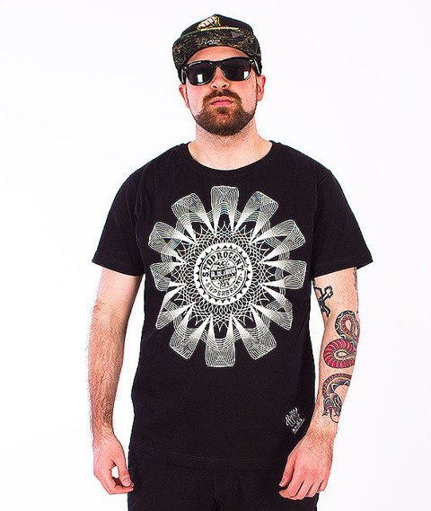 Stoprocent-Mandala T-Shirt Black