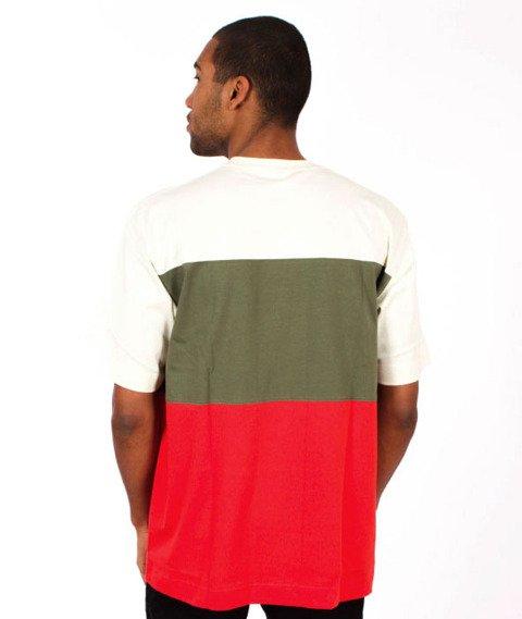 Stoprocent-Pasy T-Shirt Beige/Khaki/Red