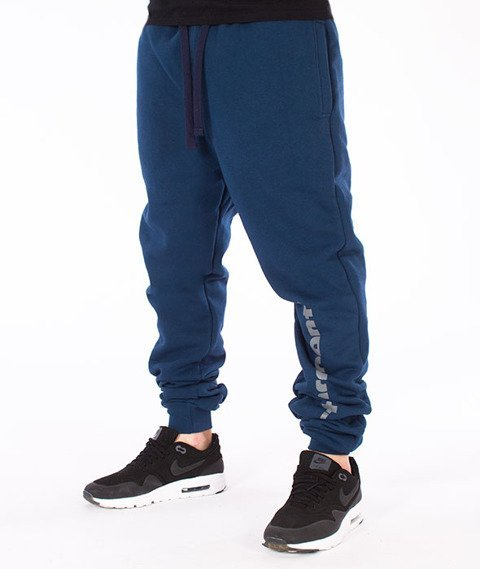 Stoprocent-Slice Spodnie Dresowe Navy Blue