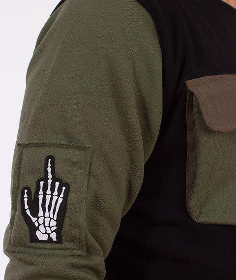 Stoprocent-Soldier Bluza Khaki/Czarna
