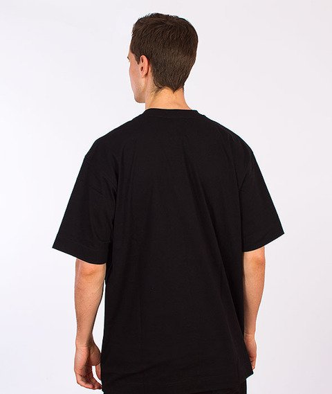 Stoprocent-Straight2 T-Shirt Czarny