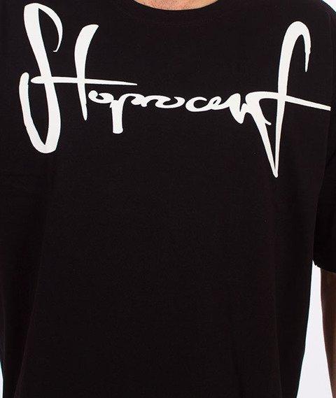 Stoprocent-Tag17 T-shirt Czarny