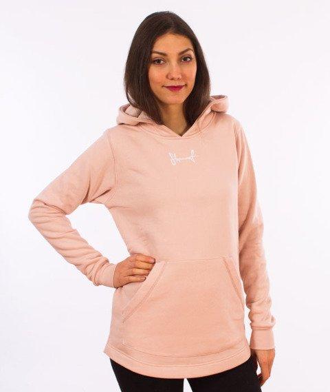 Stoprocent-Tagsplot17 Bluza z Kapturem Damska Pink
