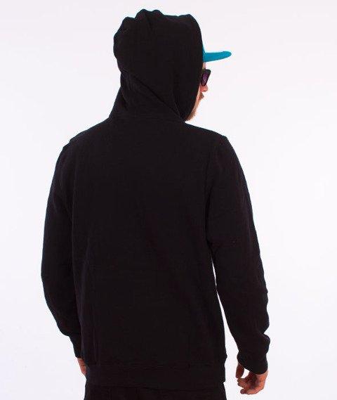 Stussy-Checker Stock Hood Bluza Kaptur Black