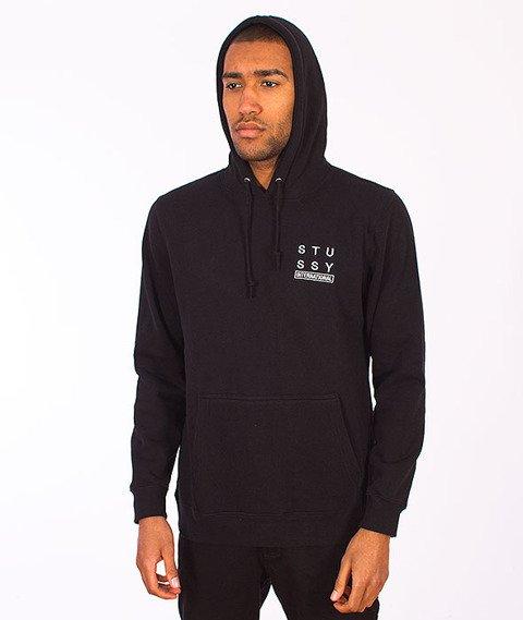 Stussy-City Stack Hood Black