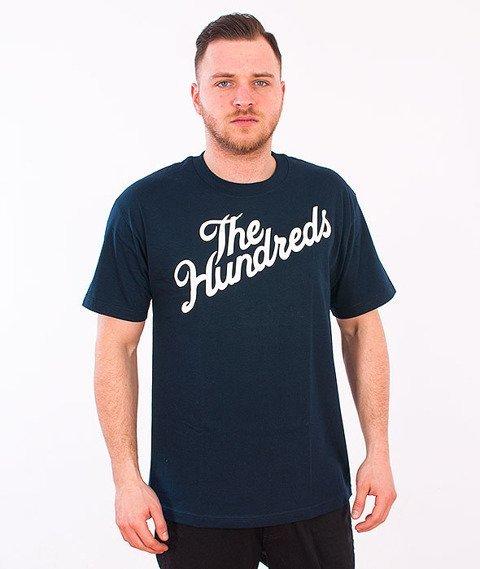 The Hundreds-Forever Slant T-Shirt Navy