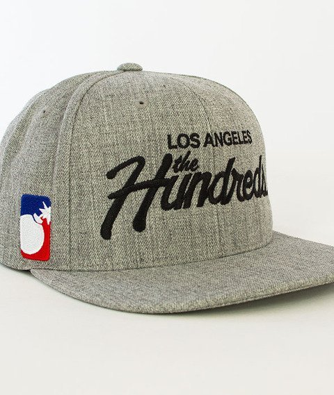 The Hundreds-Forever Team Snapback Athletic Heather