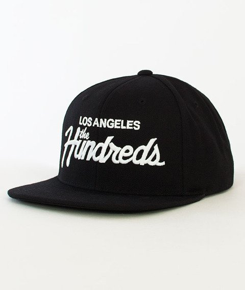 The Hundreds-Forever Team Snapback black