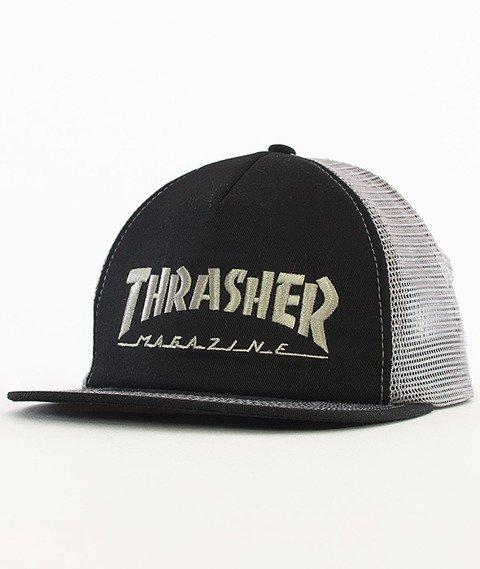 Thrasher-Logo Trucker Snapback Czarny