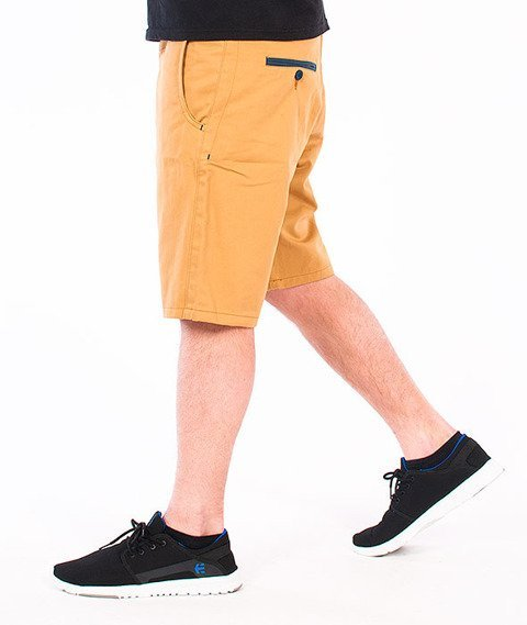 Turbokolor-Chino Shorts Olive/Ocean Blue SS16