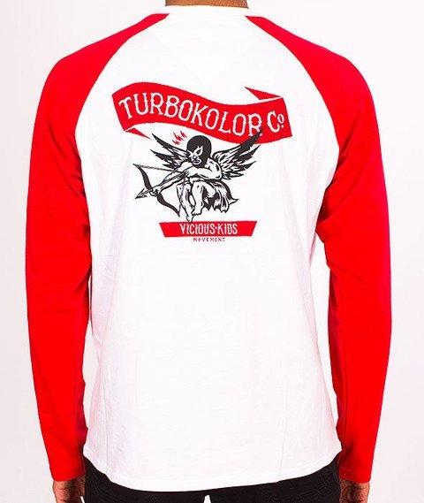 Turbokolor-Cupid Longsleeve White/Red SS16