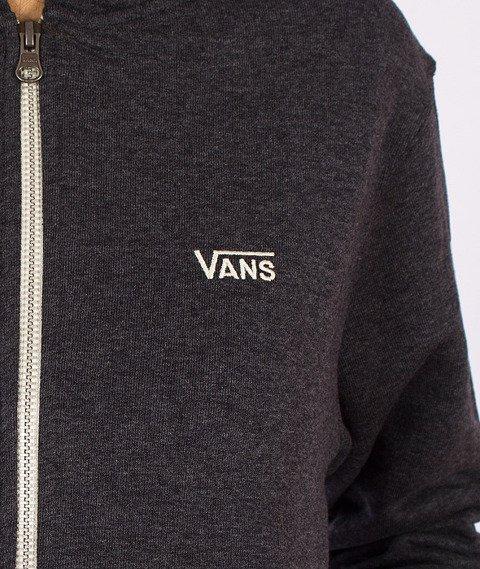 Vans-Core Basics Boys/Girls Zip Hoody Black Heather