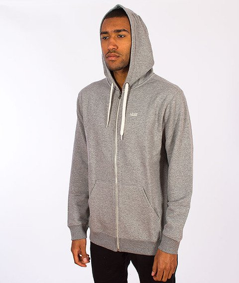 Vans-Core Basics Zip Hoody Concrete Heather