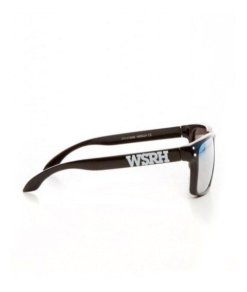 WSRH-Logo Okulary Przeciwsłoneczne Czarne/Srebrne