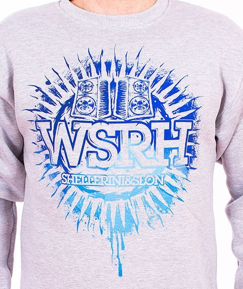 WSRH-Słońce Bluza Szara/Tonal