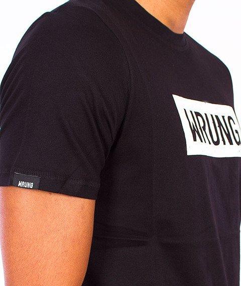 Wrung-Core logo T-Shirt Czarny