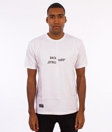 Backyard Cartel-Broken T-Shirt Biały