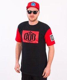 Biuro Ochrony Rapu-BOR 85 T-shirt Czarny/Czerwony