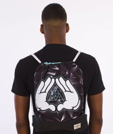 Cayler & Sons-Infinity Gym Bag Black/Mint/White