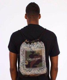 Cayler & Sons-Paiz Gym Bag Woodland/White