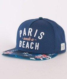 Cayler & Sons-Paris Beach Cap Deep Navy