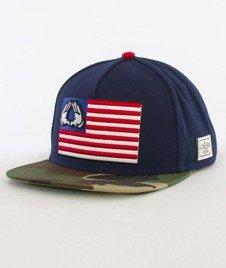 Cayler & Sons-Salute Cap Snapback Navy/Woodland