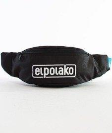 El Polako-Classic Haft Street Bag Nerka Czarna