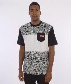 El Polako-Tags T-Shirt Czarny/Biały