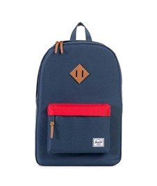 Herschel-Heritage Backpack Navy/Red [10007-00966]
