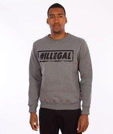 Illegal-#Illegal Bluza Grafitowa