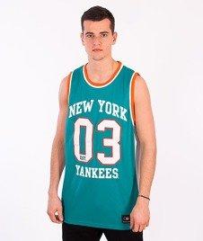 Majestic-New York Yankees Tank-Top Turquoise
