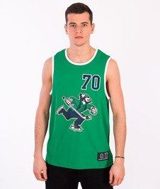 Majestic-Vancouver Canucks Tank-Top Green