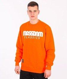 Mass-Classic Bluza Pomarańczowa