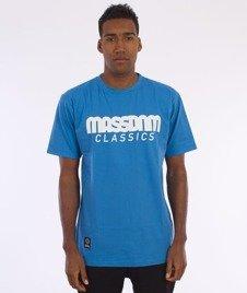 Mass-Classics T-shirt Niebieski