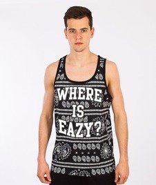 Mass-Where Is Eazy Tank-Top Czarny
