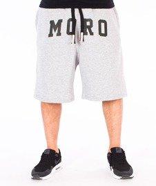 Moro Sport-MORO Spodnie Krótkie Dresowe Szare